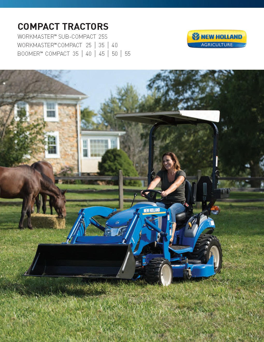 New Holland Compact Tractor Literature